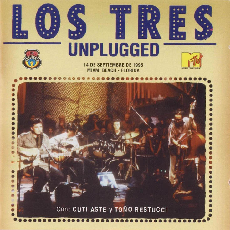 Los_Tres-Unplugged-Frontal