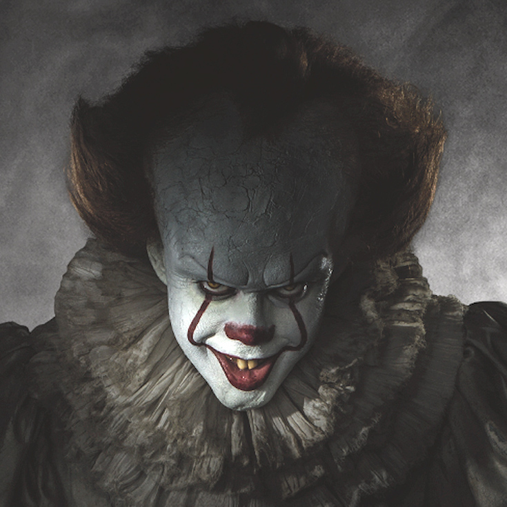 New Line Cinema IT remake Pennywise Reveal