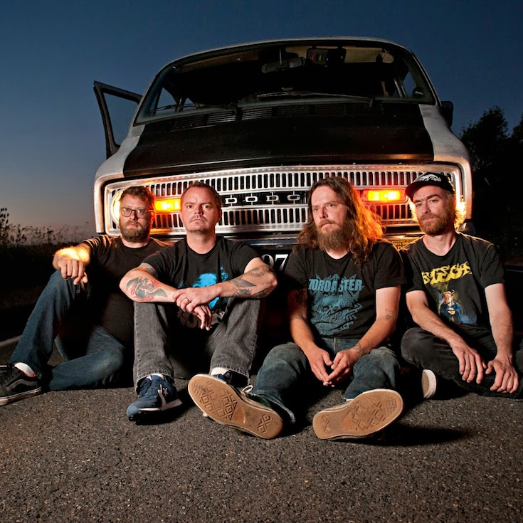 "Red Fang ""Whales and Leeches"" press photos 2013"